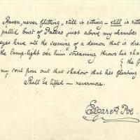 """Неколку факти за """"Гарванот"""" на Едгар Алан По!"""